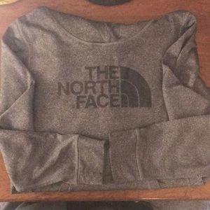 Grey north face hoodie!
